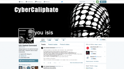 For years foreign countries have been accused of stealing military secrets via the Internet. But on January, 13th, 2015 the U.S. Central Command (CENTCOM) Twitter and YouTube Internet sites were hacked, supposedly by the ISIS.