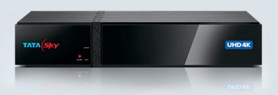 Figure 1. 2160p50 Satellite Box for Tata Sky India, which supports 10-bit video.