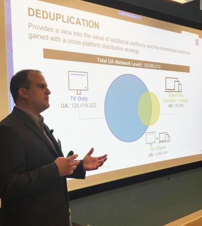 Kevin Rini is SVP Product Management at US media analytics group Nielsen.