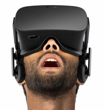Oculas VR viewing headset.