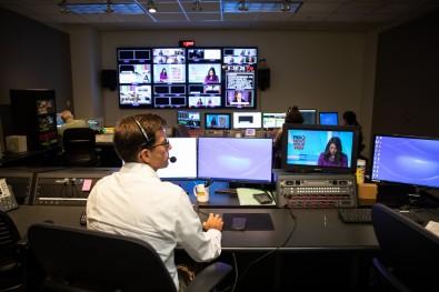 The main Arizona PBS control room with PBS