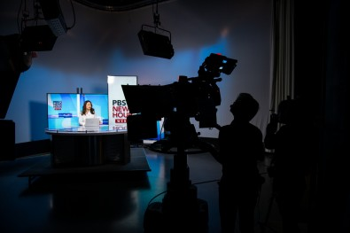 Students at The Walter Cronkite School are trained on the best broadcast production equipment, so they graduate with a thorough understanding of production techniques.