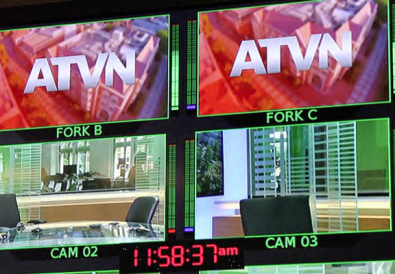 Annenberg TV News is a daily news show, which the students produce.