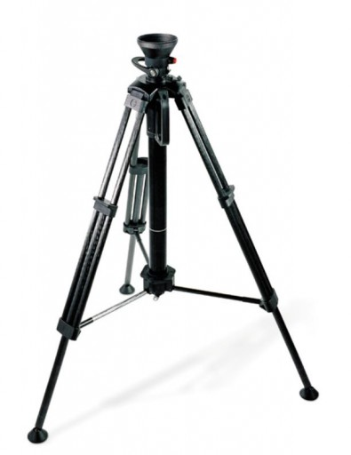 The Sachtler HotPod tripod is specifically designed for news applications. It provides rapid setup and enables high perspective shots.