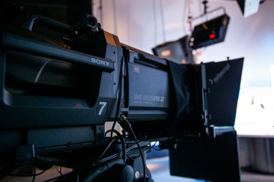 ASU has purchased three HDC-4300 4K/UHD 2/3-inch studio cameras for its NewsHour West studio and uses Sony F7 cameras for ENG work in the field.
