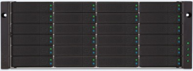 Symply Pegasus3 RAID storage in a rack-mount configuration