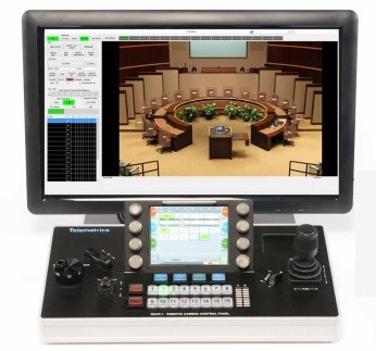 Telelmetrics robotic camera control panel software - RCCPO-1-LGS.