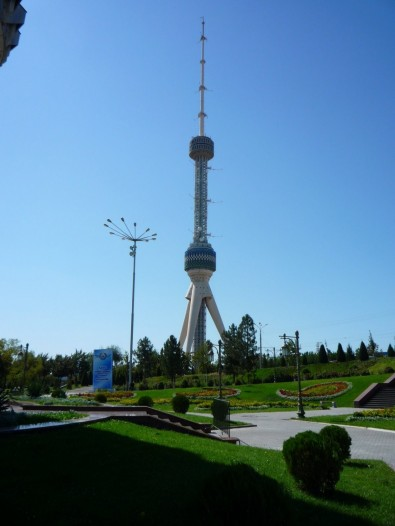 Tashkent has risen to become a celebrated city in Uzbekistan and central Asia. The state's 375 meters-tall TV Tower has even become one of the country's favorite tourist attractions. Image courtesy John and Fayne's