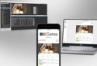 You don't need a lot of technical savvy to work with ioGates' new app on a desktop or cell phone