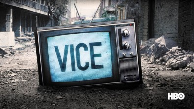 "Instead of an on-air presenter, ""VICE News Tonight"" uses creative graphical effects to transition from one show segment to the next."