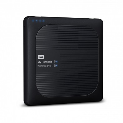 Western Digital's My Passport wireless Pro 3 portable hard drive