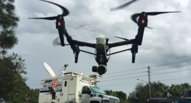As a news broadcaster do you want the competition to know where and when you are using a drone?