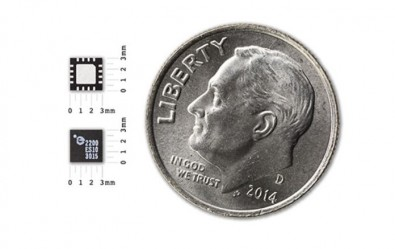 The world's first RF-Power receive chip from Energous.