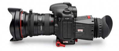 In bright sunlight devices like the Zacuto Z-finder ease the viewing or rear screens on DSLRs and mirrorless cameras.