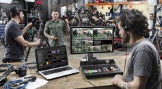 ATEM TV Studio Pro HD is powerful enough for professional broadcasts, but flexible enough for AV videographers.