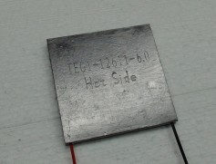 Picture of a thermoelectric cooling module