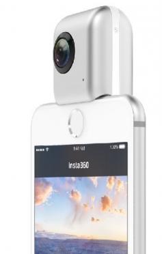 Figure 5: The Insta360 App runs on an iPhone.