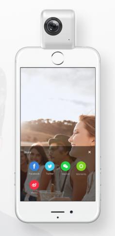 Figure 7: Insta360 iPhone App.