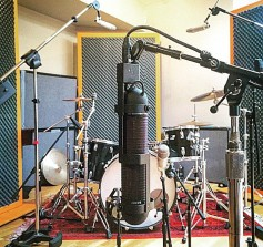 AEA R88 in recording session.