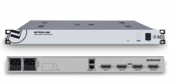 AEQ NETBOX DSP can mix and route between 64 and 160 channels, depending on the particular version. It also provides a full-range of audio processing functions.