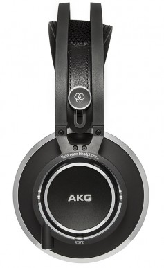 Side view of the new AKG K872 Headphones