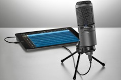 Audio-Technica's AT2020USBi recording mic for iOS-based systems