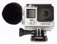 Sennheiser prototype mic for Go-Pro cameras