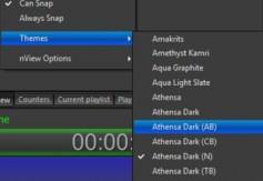 The new Athensa UI is adjustable.