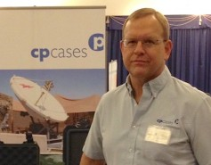 Bruce Blackway, sales manager, CP Cases