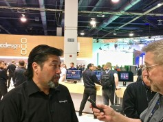 Bob Caniglia, dir. sales operations, Americas, for Blackmagic Design and Jay Ankeney of The Broadcast Bridge