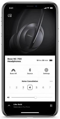 Bose iOS app