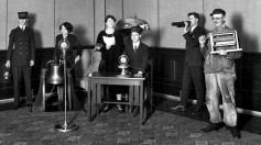 CBS broadcast, circa 1930s