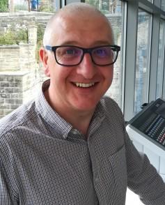 Calrec's Dave Letson.