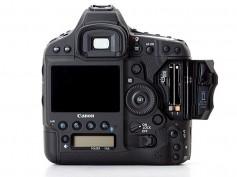 Rear of Canon EOS-1D X Mark II DSLR camera