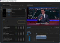 The program allows Adobe Premiere Pro users to add subtitling directly from the embedded transcript