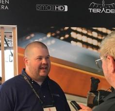 Jay interviews SmallHD's marketing mgr., Colin Jackson.