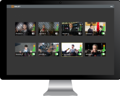 Dalet Brio video server provides video over IP support.