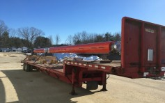 A new Dielectric antenna is loaded and ready for transport.