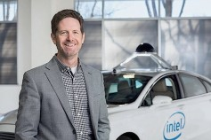 Keynoter Doug Davis of the Automated Driving Group at Intel Corporation.