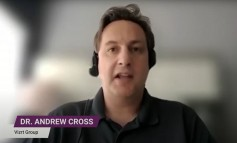 """Dr. Cross commented, """"The most exciting part of what I do is seeing the incredible things that all the users are doing with it."""" Courtesy Keycode Media."""