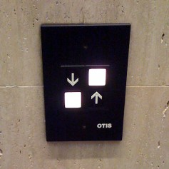 Going up? Which button does one press? Studies show when faced with the choices offered by this elevator button design, half of the participants chose each button. This product design failed to lead to a consistent result.