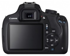 Figure 10: Canon DSLR with its many buttons and a complex dial.