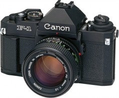 Figure 5: F-1 released by Canon in 1981.