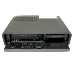 Figure 6. Today's video editors may not realize that digitally-edited video had to still be output onto video tape. The Sony SLV-R5 VHS VCR was a popular solution. Click to enlarge.