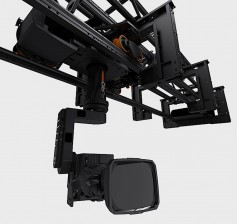 The actual camera cradle of the SkyDolly