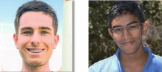 James Bud Ginsberg and Neil Movva<br />Student Paper Award<br />