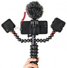 Joby GorillaPod can mount up to three additional devices.