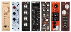 Various plug-ins, all compatible with the API Lunchbox packaging. Click to enlarge.