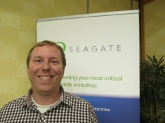 Jason Early, Sales Engineer, Seagate