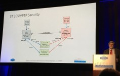 A more secure IP nework with SMPTE ST 2059 (click to enlarge).